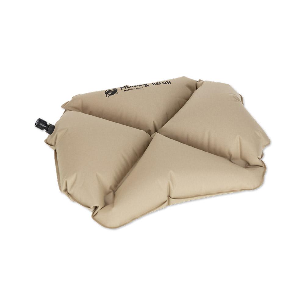 Надувная подушка Klymit Pillow X Recon, песочная (12PXCy01C)