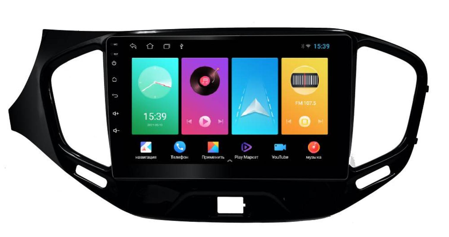 Штатная магнитола FarCar для Lada Vesta на Android (D1205M)
