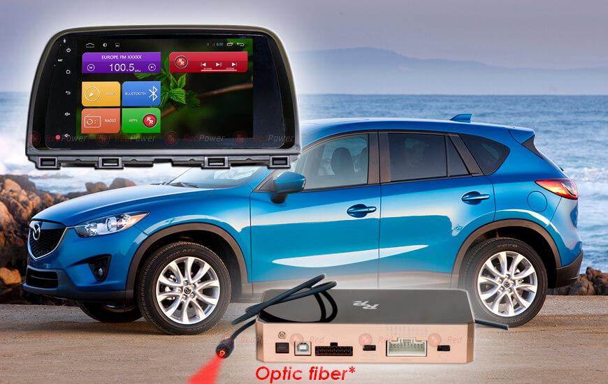 Штатная магнитола RedPower 31112 RIPS Mazda CX-5 (2013-2015) дорестайл штатная магнитола redpower 31066 rips toyota corolla 2013 2016 дорестайл