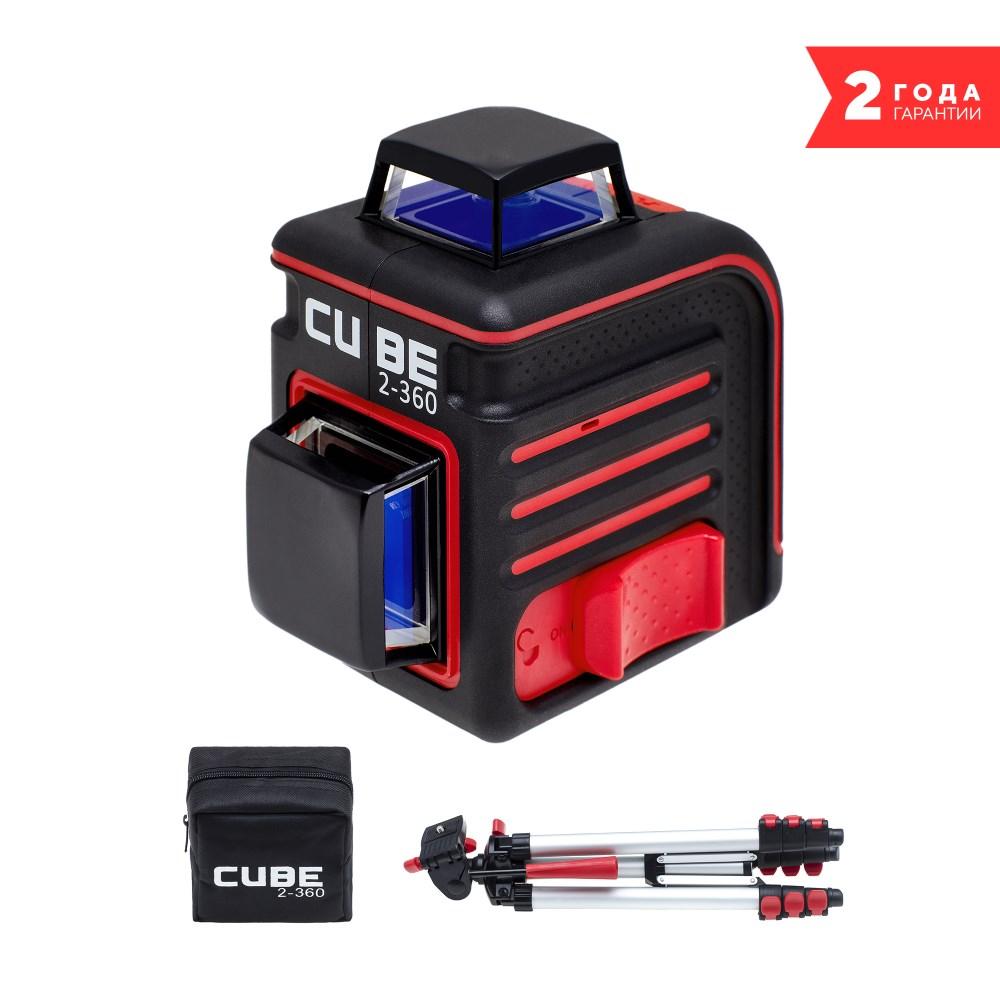 цена на Лазерный уровень ADA CUBE 2-360 PROFESSIONAL EDITION