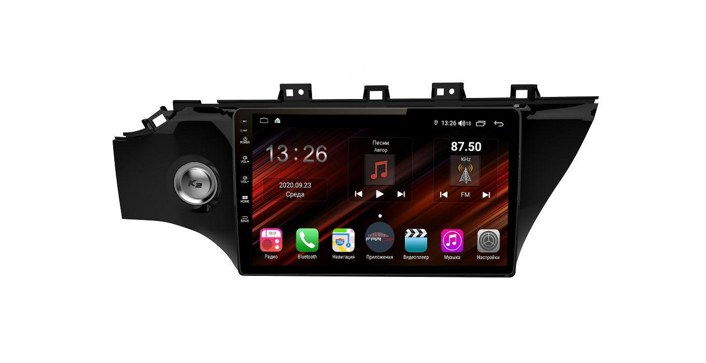 Штатная магнитола FarCar s400 Super HD для KIA Rio на Android (XH1105R) (+ Камера заднего вида в подарок!)