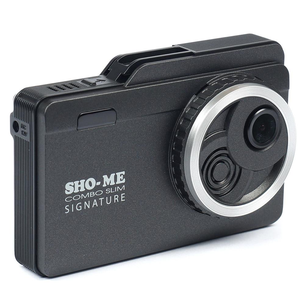 Видеорегистратор с радар-детектором SHO-ME Combo Slim Signature (+ Антисептик-спрей для рук в подарок!)