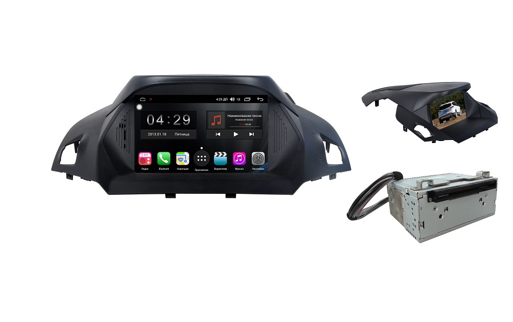 Штатная магнитола FarCar s300 для Ford Kuga на Android (RL362) (+ Камера заднего вида в подарок!)