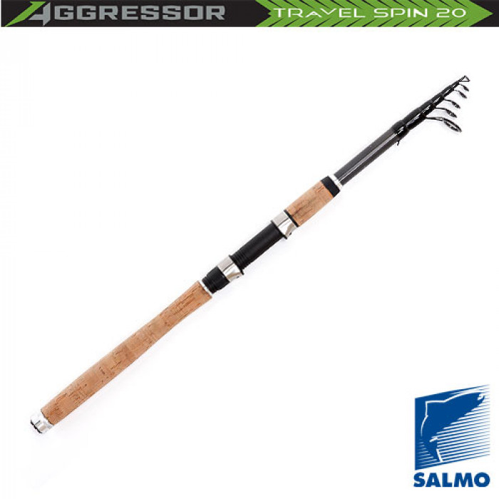 Удилище спиннинговое Salmo Aggressor TRAVEL SPIN 20 2.40