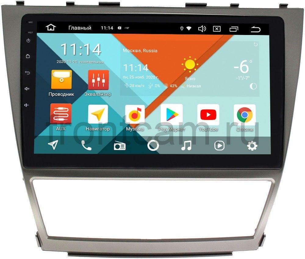 Штатная магнитола Toyota Camry V40 Wide Media KS1063QR-3/32 DSP CarPlay 4G-SIM Android 10 (+ Камера заднего вида в подарок!)