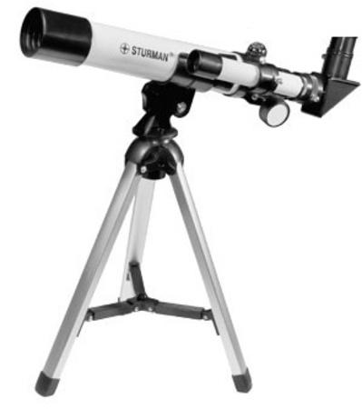Телескоп STURMAN F40040 M (+ Книга «Космос. Непустая пустота» в подарок!)
