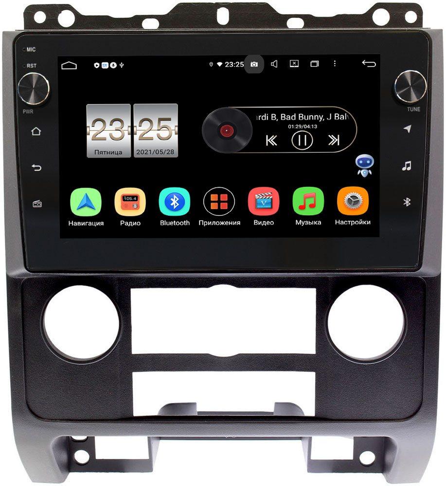 Штатная магнитола LeTrun BPX609-9279 для Ford Escape II 2007-2012 (черная) на Android 10 (4/64, DSP, IPS, с голосовым ассистентом, с крутилками) (+ Камера заднего вида в подарок!)