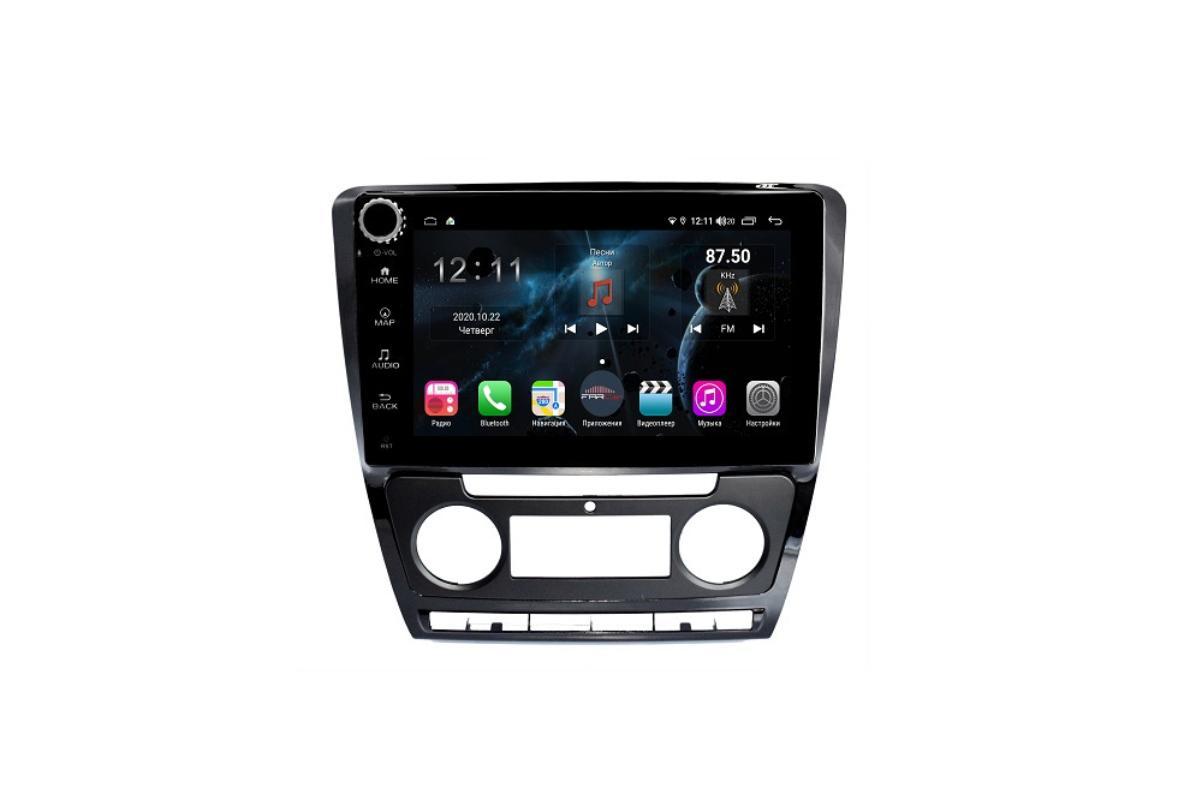 Штатная магнитола FarCar s400 для Skoda Octavia на Android (H005RB) (+ Камера заднего вида в подарок!)