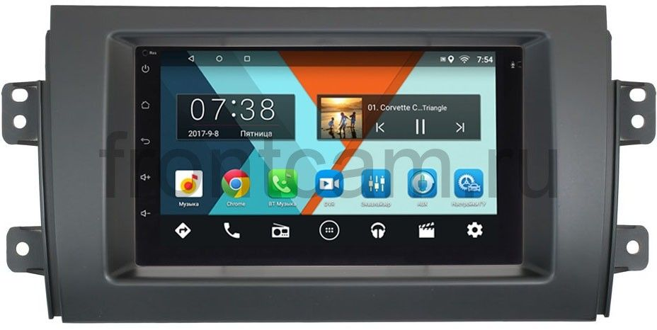Штатная магнитола Suzuki SX4 I 2006-2014 Wide Media MT7001-RP-SZSX4-44 на Android 6.0.1 vgate icar2 elm 327 v2 1 obd2 bluetooth adapter auto obd scanner car code reader diagnostic scan tool universal odb odb2 obdii