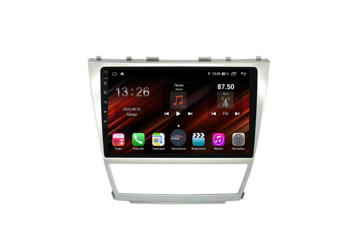 Штатная магнитола FarCar s400 Super HD для Toyota Camry на Android (XH064R) (+ Камера заднего вида в подарок!)
