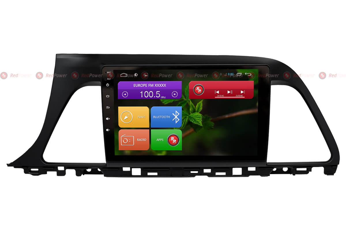 Штатная магнитола RedPower 31060 IPS Hyundai Sonata (2016+) штатная магнитола redpower 31210 ips hyundai santa fe iii dm 2012