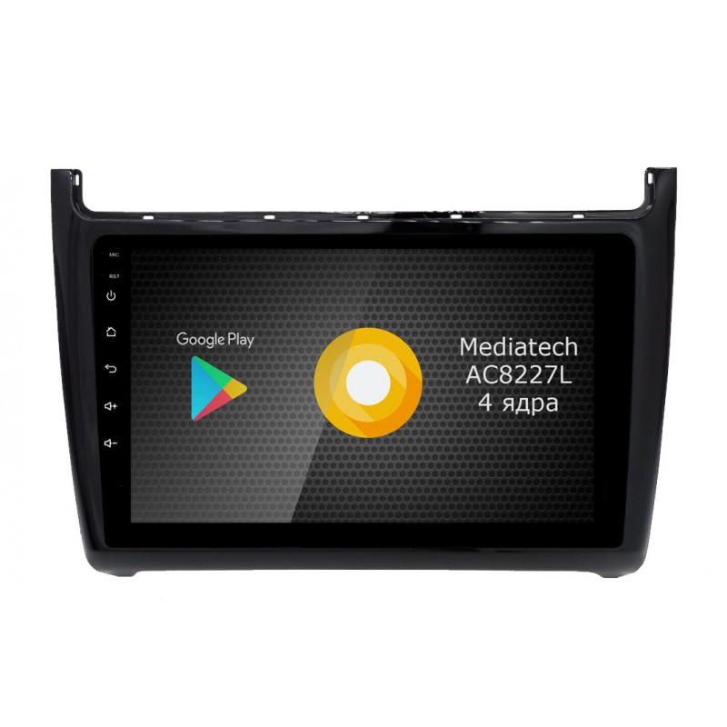 Штатная магнитола Roximo S10 RS-3707 для Volkswagen Polo (Android 9.0) (+ Камера заднего вида в подарок!)
