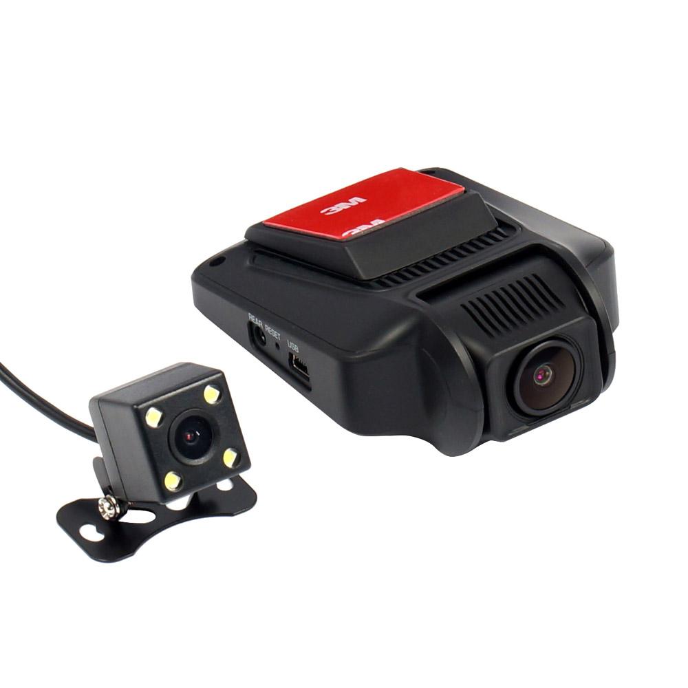 Видеорегистратор Street Storm CVR-N8520WStreet Storm<br>2-х канальный видеорегистратор в лаконичном корпусе, с удобным креплением, отличным видеосенсором SONY EXMOR IMX323 (2Mp) и качественной оптикой. Запись происходит в высоком разрешении Full HD (1920x1080) и частотой кадров 30 к/с. <br> Благодаря встроенному LCD дисплею 2,45 регистратор легко настроить и правильно установить, выставив оптимальный угол наклона камеры. Встроенный Wi-Fi очень удобен. Водителю больше не надо доставать карту памяти и копировать с нее данные или нести регистратор домой. <br> Управление полностью возможно с любого смартфона или планшета на iOS и Android через мобильное приложение. <br> Модель оснащена парковочным режимом «Park Guide», который позволяет системе автоматически включатся и записывать при срабатывании G-сенора (датчика удара). <br> Стоит так же отметить крепление регистратора. Компактная пластинка на 3M скотче приклеивается к стеклу и на нее устанавливается сам прибор. Такой способ крепления не только экономит пространство и делает его малозаметным, но и позволяет избежать тряски изображения. <br> Дополнительная задняя VGA-камера c LED-подсветкой, возможность записи видео одновременно с двух камер. Есть возможность работы в качестве парковочной камеры (отображение на дисплее во время включении задней передачи). Благодаря влагозащите класса IP67 она может быть установлена не только на заднем стекле но и снаружи автомобиля.<br><br>Отличительные особенности:<br><br>Утракомпактный корпус с матовым покрытием Soft-Touch<br>Дополнительная задняя камера с LED подсветкой.<br>Возможность использования второй камеры в качестве парковочной.<br>Процессор Novatek 96658, 1GB DDRIII и матрица Sony Exmor IMX323, 2Mp, 1/2.7 <br>6-линзовый стеклянный объектив 170° с ИК-фильтром<br>Контрастный ЖК дисплей 2.45 с функцией автоотключения по заданному промежутку времени<br>Встроенный G-сенсор (датчик удара) с регулировкой чувствительности фиксирует столкновение, резкое торможение или ускорение и б