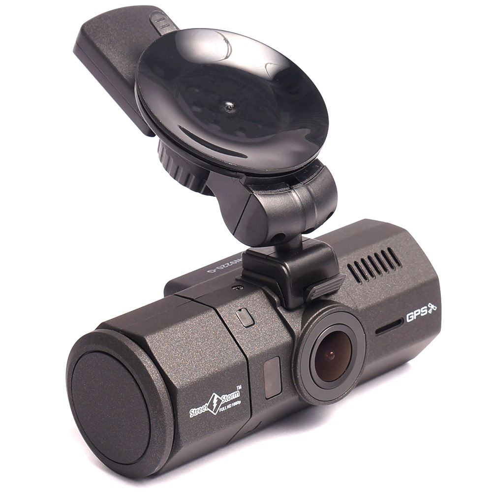 Видеорегистратор с двумя камерами и gps модулем Street Storm CVR-N9220-G (+ Разветвитель в подарок!) streetstorm cvr a7812 g pro разветвитель в подарок