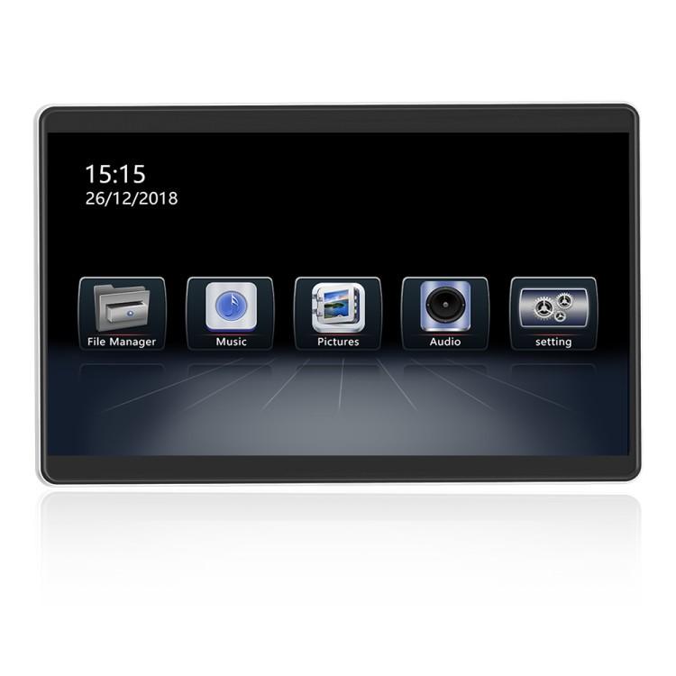 Навесной монитор на подголовник ERGO ER12AN (Android 8.1) (+ Беспроводные наушники в подарок!)