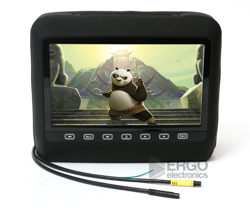 Автомобильный монитор Ergo ER9HD (+ беспроводные наушники)