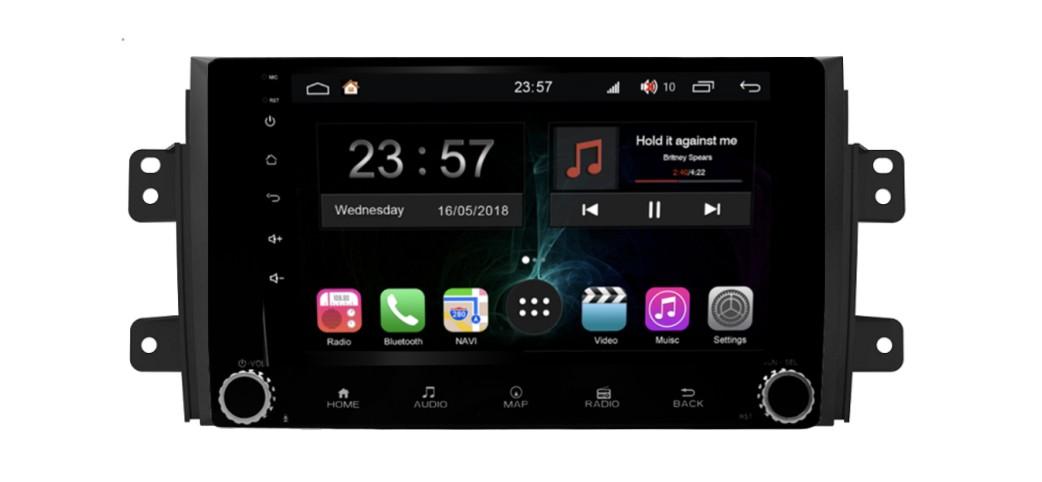 Штатная магнитола FarCar s300-SIM 4G для Suzuki Sx-4 на Android (RG124RB) (+ Камера заднего вида в подарок!)