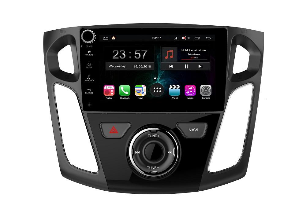 Штатная магнитола FarCar s300-SIM 4G для Ford Focus 3 на Android (RG150/501RB) (+ Камера заднего вида в подарок!)
