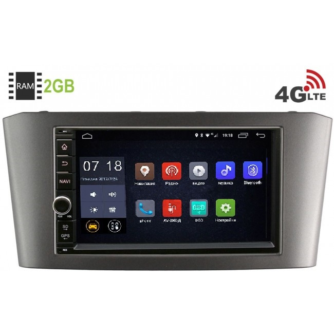 Штатная магнитола LeTrun 1968-RP-TYAV25Xc-09 для Toyota Avensis II 2003-2008 Android 6.0.1 (4G LTE 2GB)LeTrun<br>LeTrun 1968-RP-TYAV25Xc-09 — официальная прошивка на Android 6.0.1 обновляемая по воздуху c 2 Гб оперативной и 16 Гб встроенной памяти под все ваши задачи.