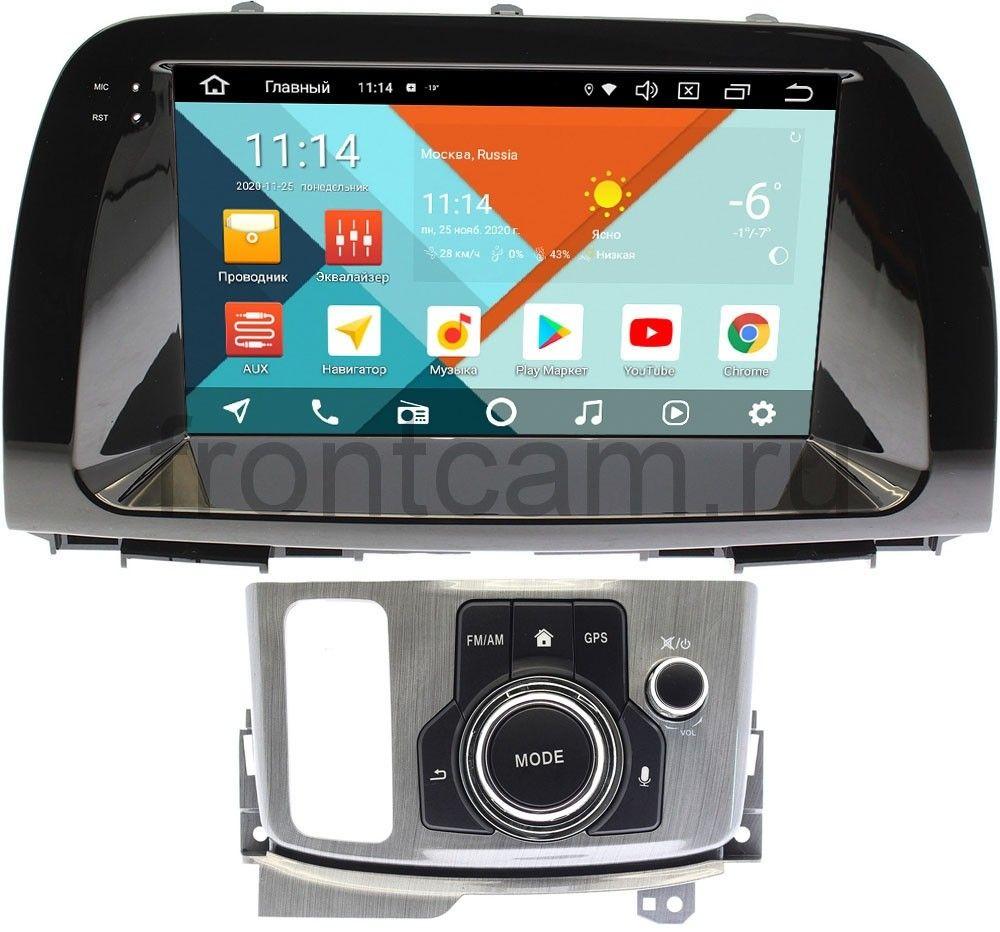 Штатная магнитола Mazda CX-5 I 2011-2017 (с джойстиком) Wide Media KS9193QM-2/32 DSP CarPlay 4G-SIM Android 10 (+ Камера заднего вида в подарок!)