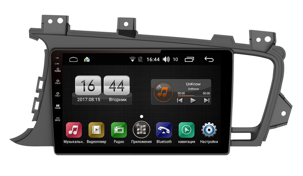 Штатная магнитола FarCar s185 для Kia Optima III 2010-2014 на Android (LY091R) (+ Камера заднего вида в подарок!)