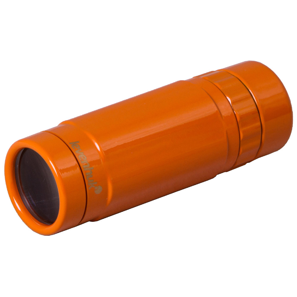 Монокуляр Levenhuk Rainbow 8x25 Sunny Orange (+ Автомобильные коврики для впитывания влаги в подарок!)