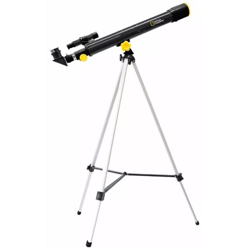 Телескоп Bresser National Geographic 50/600 AZ (+ Книга «Космос. Непустая пустота» в подарок!)