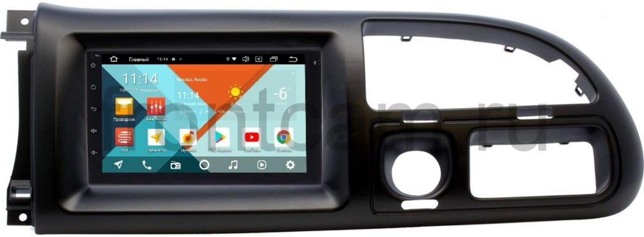 Магнитола в штатное место 2 din Ford Transit 2006-2010 Wide Media KS7001QR-3/32-RP-FRTR-93 на Android 10 (DSP CarPlay 4G-SIM) (+ Камера заднего вида в подарок!)
