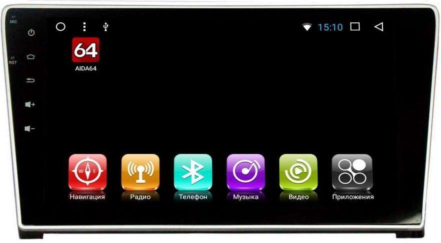 Штатная магнитола Honda CR-V III 2007-2012 LeTrun 2198 на Android 7.1.1 Allwinner T3 цена