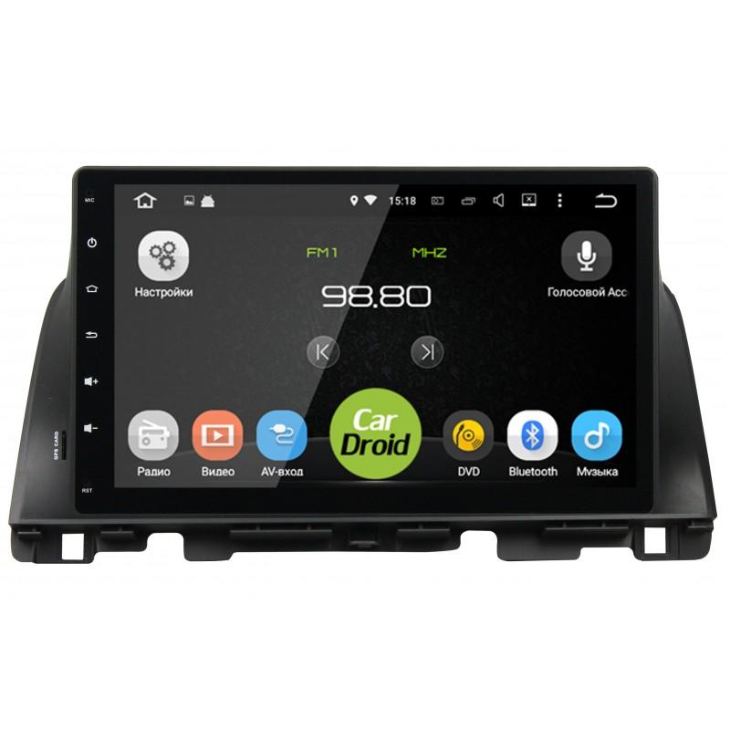 Фото - Штатная магнитола CarDroid RD-2325D для KIA Optima 2016 10 (Android 9.0) DSP (+ Камера заднего вида в подарок!) штатная магнитола cardroid rd 2310d m18 для kia optima 2018 android 8 0 dsp камера заднего вида в подарок
