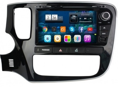 Штатная автомагнитола VOMI VM6993-T8 для Mitsubishi Outlander 3 на Android 8