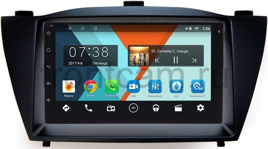 Штатная магнитола Hyundai ix35, Tucson II 2011-2015 Wide Media MT7001-RP-HDI35-32 на Android 7.1.1 (+ Камера заднего вида в подарок!)