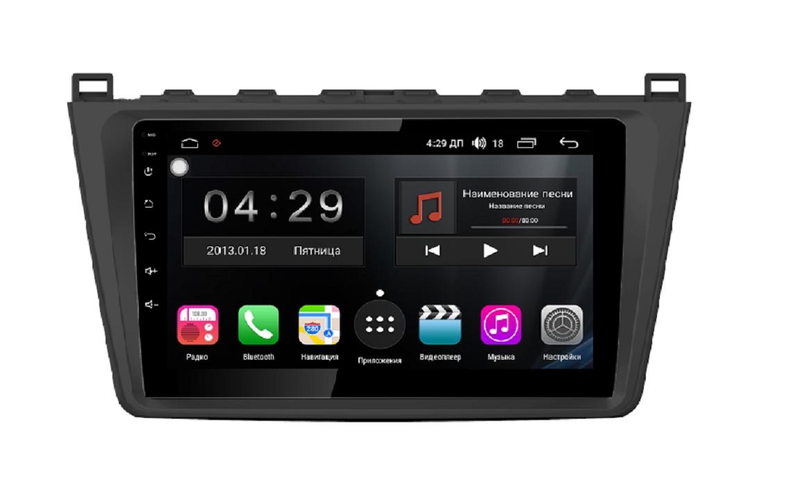 Штатная магнитола FarCar s300 для Mazda 6 на Android (RL012R) (+ Камера заднего вида в подарок!)