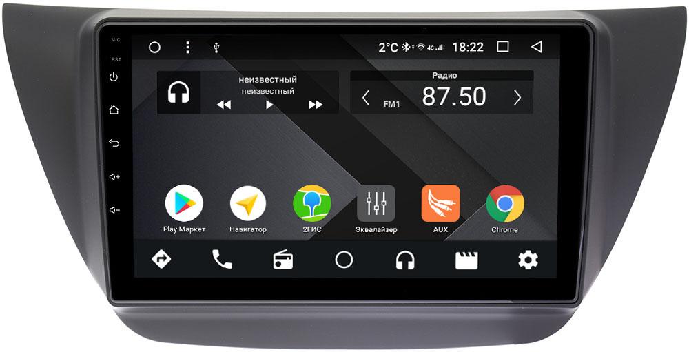 Штатная магнитола Mitsubishi Lancer IX 2000-2010 Wide Media CF9099-OM-4/64 на Android 9.1 (TS9, DSP, 4G SIM, 4/64GB) (+ Камера заднего вида в подарок!)