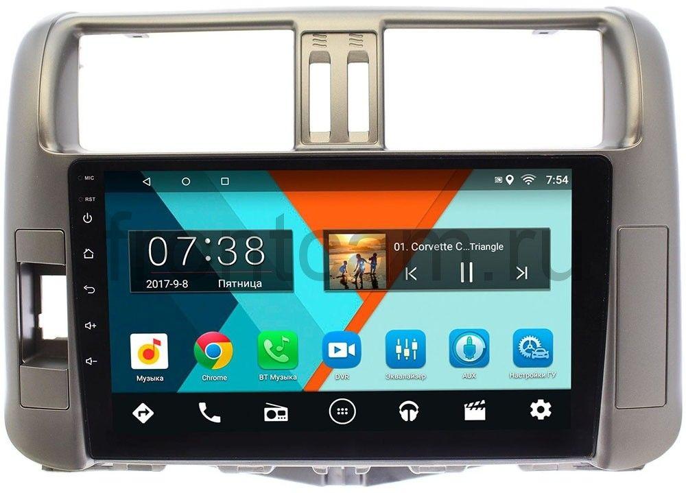 Штатная магнитола Toyota LC Prado 150 2009-2013 Wide Media MT9006MF-2/16 на Android 7.1.1 для авто без усилителя