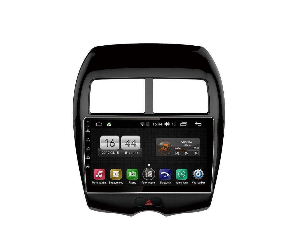 Штатная магнитола FarCar s185 для Mitsubishi ASX (2010-2013), Peugeot 4008 (2012-2013), Citroen Aircross (2012-2013) на Android (LY026R) (+ Камера заднего вида в подарок!)