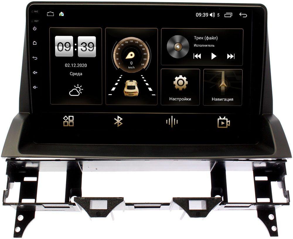 Штатная магнитола Mazda 6 (GG) 2002-2007 LeTrun 4165-10-1101 на Android 10 (4G-SIM, 3/32, DSP, QLed) (+ Камера заднего вида в подарок!)