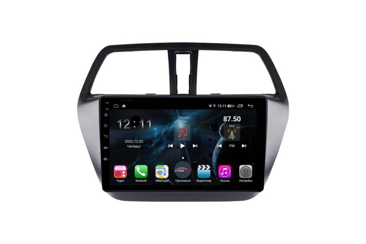 Штатная магнитола FarCar s400 для Suzuki Sx-4 на Android (H337R) (+ Камера заднего вида в подарок!)