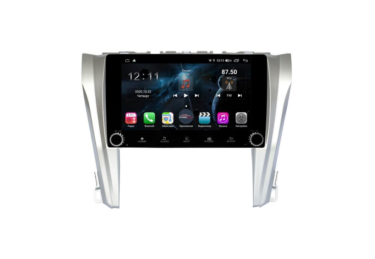 Штатная магнитола FarCar s400 для Toyota Camry 2014+ на Android (H466RB) (+ Камера заднего вида в подарок!)