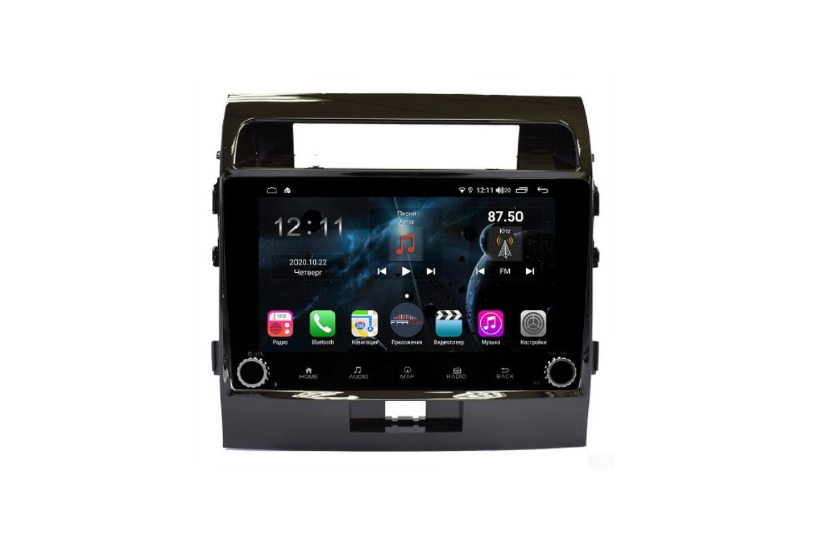 Штатная магнитола FarCar s400 для Toyota Land Cruiser 200 на Android (H381RB) (+ Камера заднего вида в подарок!)