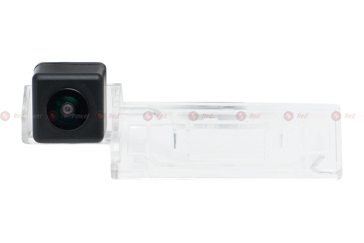 Штатная видеокамера парковки Redpower AUDI001P Premium для Skoda Fabia (2013+), Skoda Yeti (2013+) штатная видеокамера парковки redpower vw373p premium для vw touareg 11 touran 10 sharan 10 polo седан 15 skoda octavia a7 13 для авто с диодной подсветкой