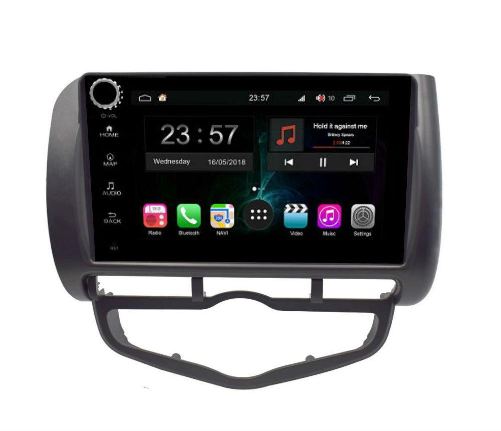 Штатная магнитола FarCar s300-SIM 4G для Honda Fit на Android (RG1232RB) (+ Камера заднего вида в подарок!)