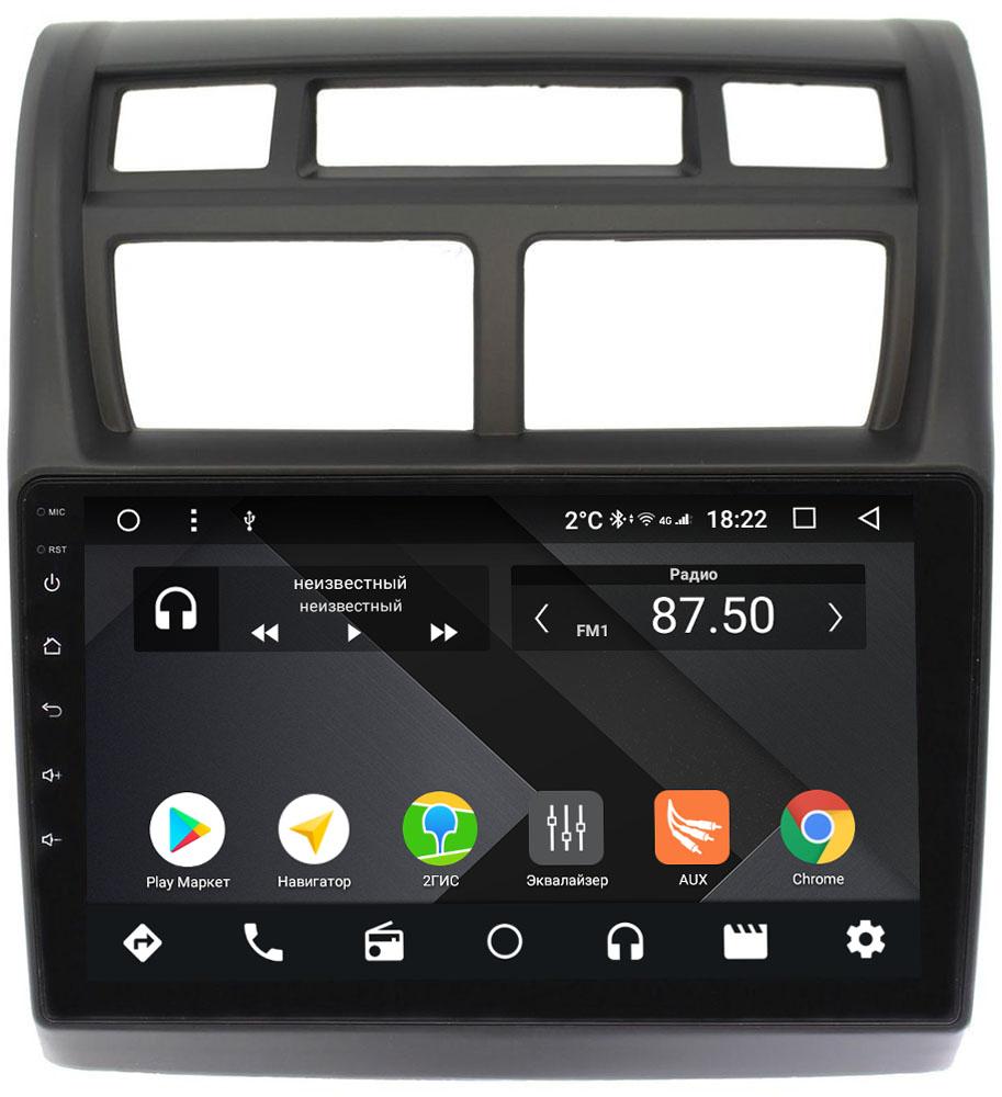 Штатная магнитола Kia Sportage II 2008-2010 Wide Media CF9049-OM-4/64 на Android 9.1 (TS9, DSP, 4G SIM, 4/64GB) (+ Камера заднего вида в подарок!)