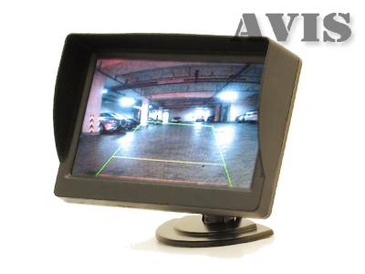Автомобильный монитор 4.3 на приборную панель AVIS AVS0437BM на авто через украину