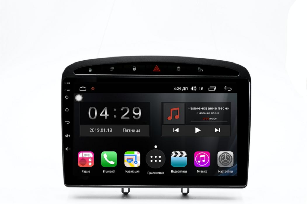 Штатная магнитола FarCar s300 для Peugeot 308/408 на Android (RL083R) (+ Камера заднего вида в подарок!)
