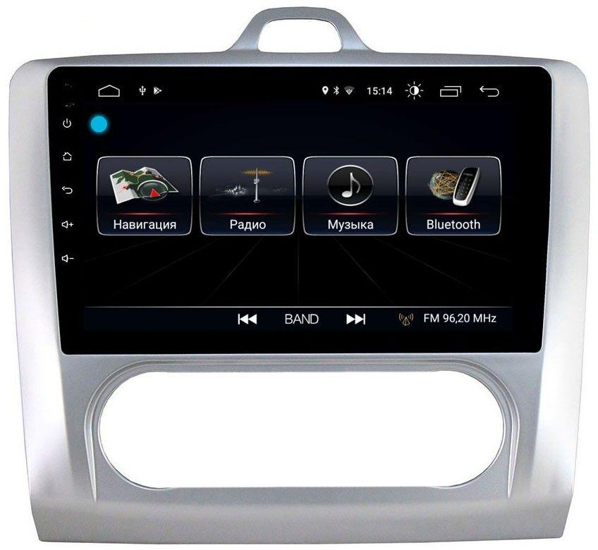 Штатная магнитола LeTrun 1889 для Ford Focus II 2005-2011 (с климатом) на Android 8.0.1 MTK-L 1Gb (+ Камера заднего вида в подарок!)