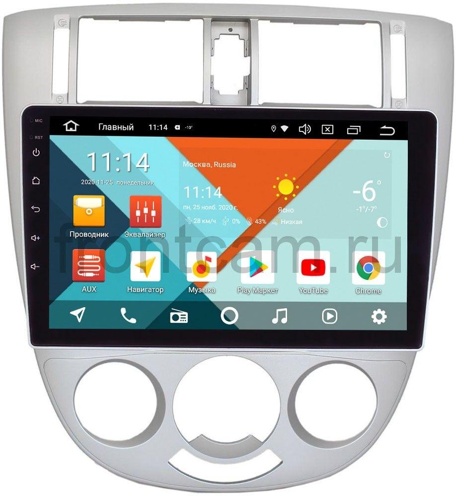 Штатная магнитола для Chevrolet Lacetti 2004-2013 (тип 3) Универсал / Седан с кондиционером Wide Media KS1079QR-3/32 DSP CarPlay 4G-SIM Android 10 (+ Камера заднего вида в подарок!)