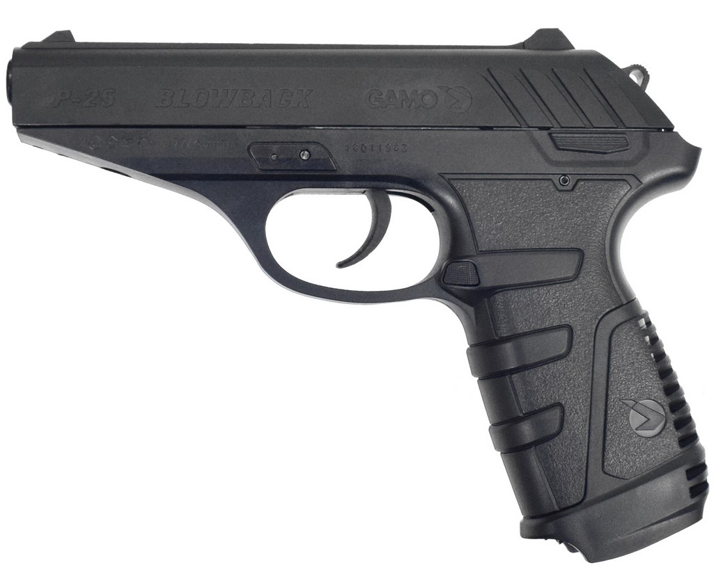 Пневматический пистолет GAMO P-25 BlowBack цена