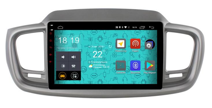 Штатная магнитола Parafar 4G/LTE с IPS матрицей для Kia Sorento Prime 2015+ на Android 7.1.1 (PF223) unlocked netger 4g 150mbps sierra wireless router aircard 770s 4g lte mobile wifi hotspot dongle 4g pocket wifi