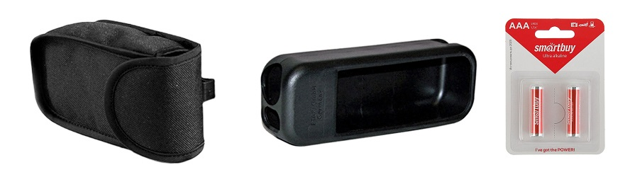 Два чехла + батарейки (Набор для толщиномера) цены